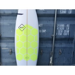 RSPro Hexa Traction Yellow Fluor Edition Paddle Surf SUP