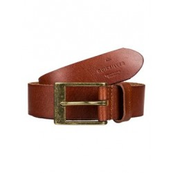 Quiksilver Slim Premium Cinturón Cuero para Hombre