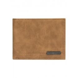 Quiksilver Stitchy Wallet - Cartera de Cuero para Hombre