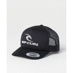Rip Curl The Surfing Company Cap Black Gorra Rejilla