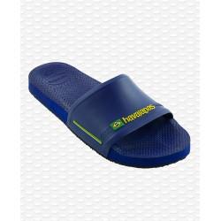Havaianas Slide Brasil Blue