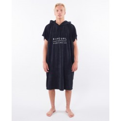 Rip Curl Mix Up Hooded Towel Black