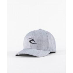Rip Curl Tepan Weld Flexfit Cap Grey